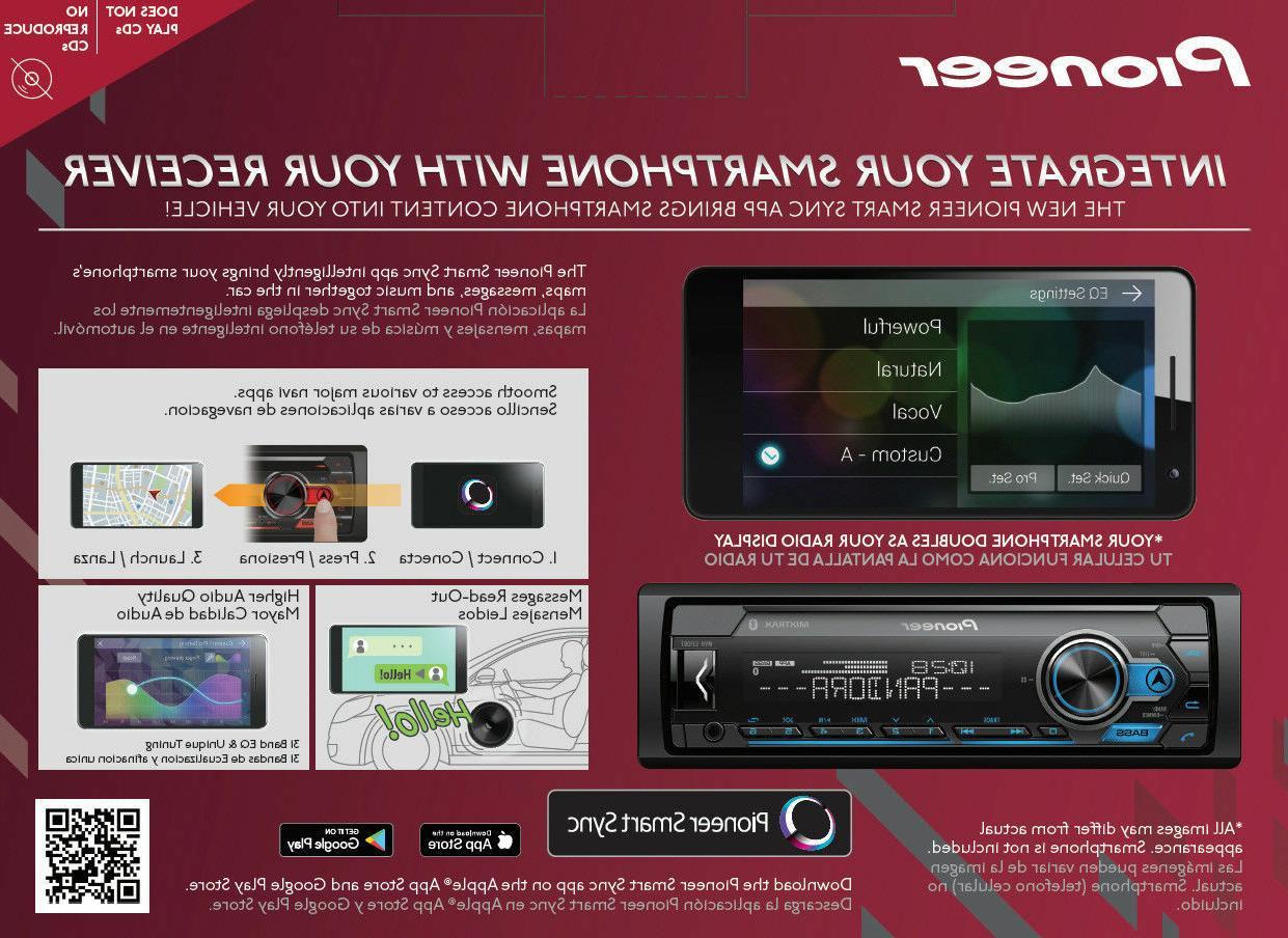 """Pioneer Digital 4 6.5"""""""