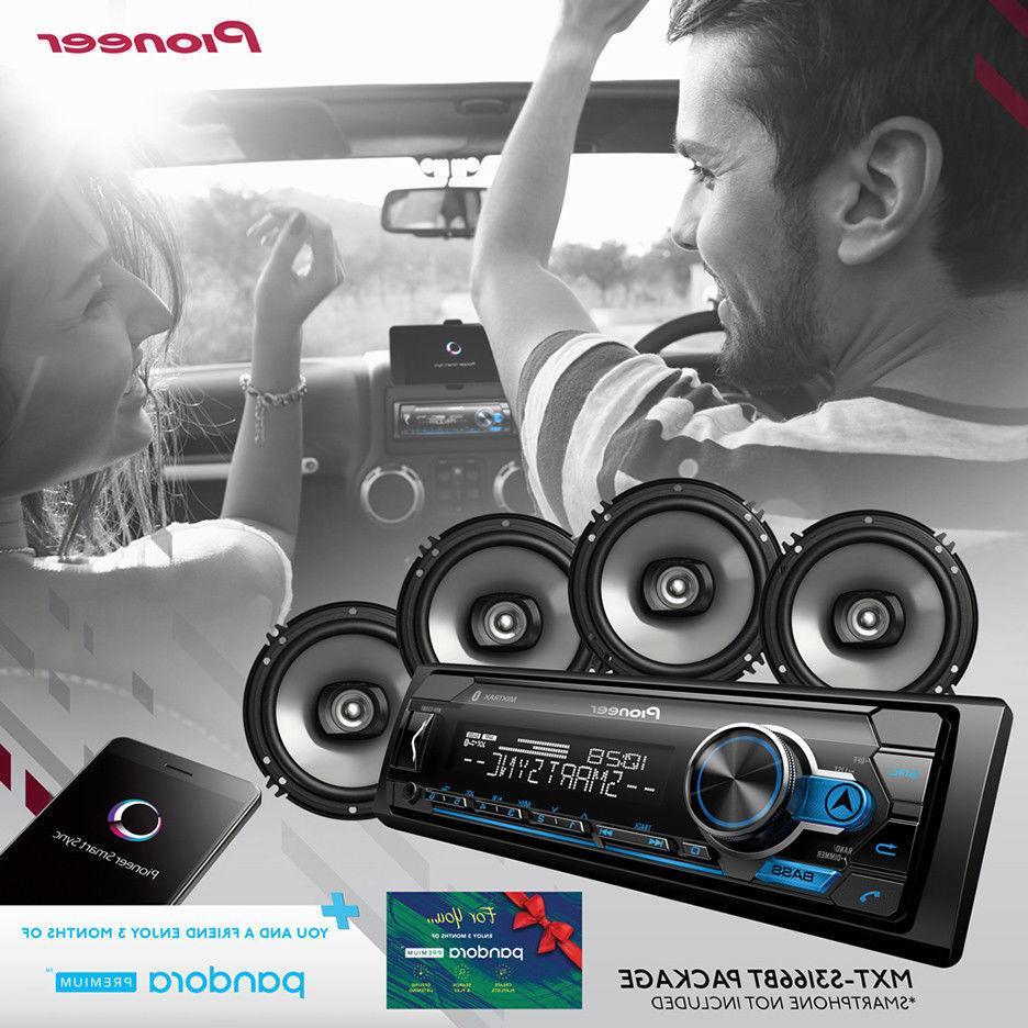 car stereo bundle digital media receiver