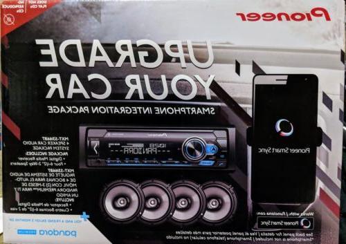 car stereo bundle mvh s310bt digital media