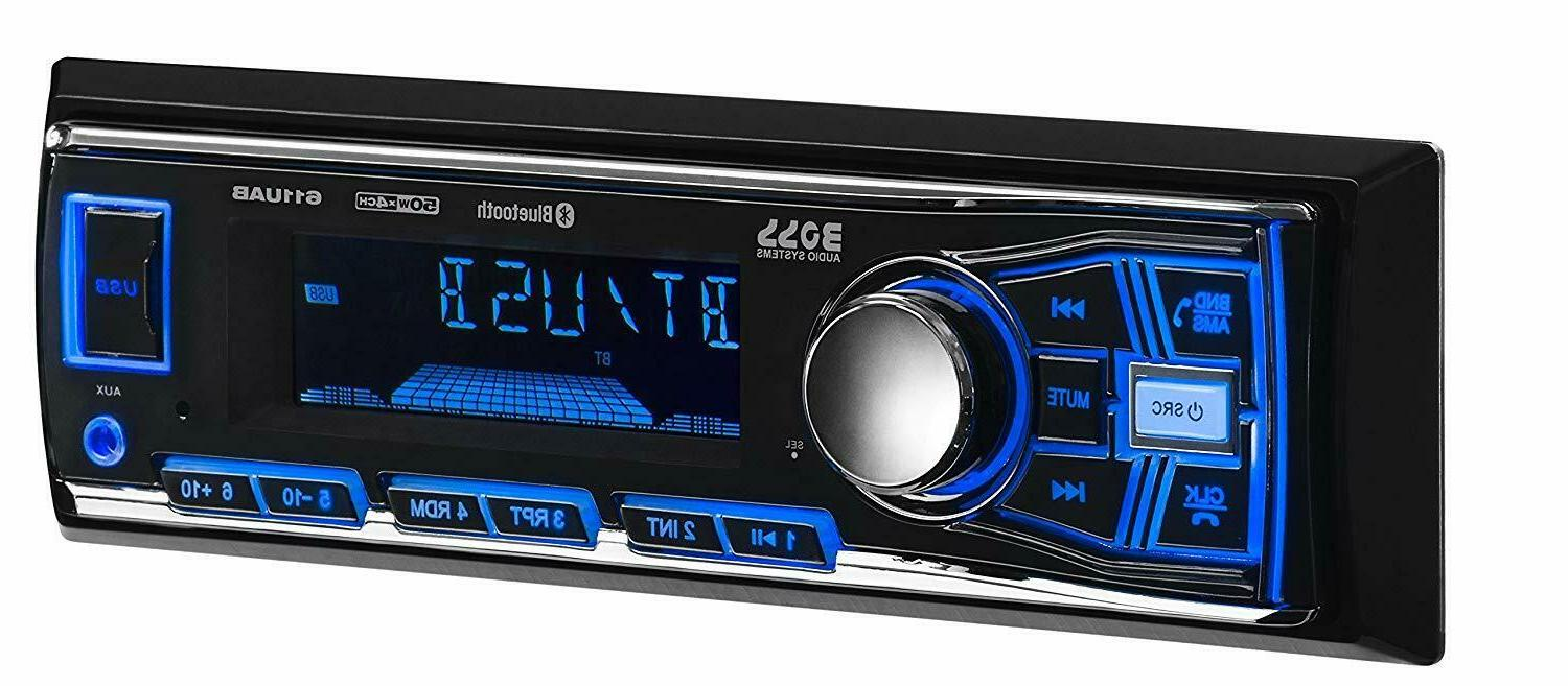 NEW BOSS AUDIO Single-DIN In-Dash Mechless Car Stereo Radio