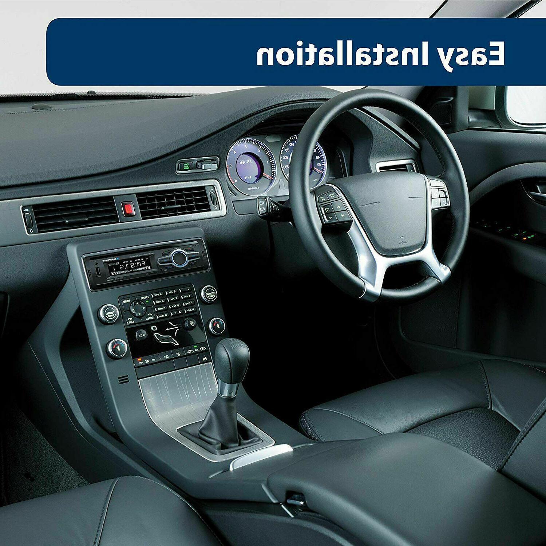 Blaupunkt Car Stereo Media Receiver USB Audio Bluetooth Enabled LCD