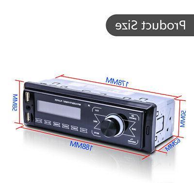 Car MP3 Bluetooth AUX USB FM Handsfree MIc.