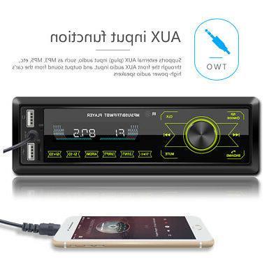 Car Player Bluetooth USB TF FM Handsfree MIc.