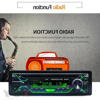 Car Stereo MP3 Player FM Handsfree