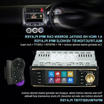 Car Mp5 Player Bluetooth Radio+ Camera Wheel