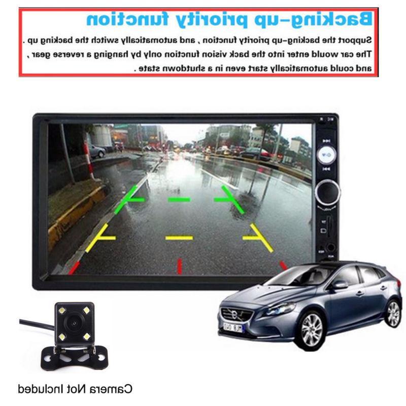 Car Audio Receiver Din Touch AUX
