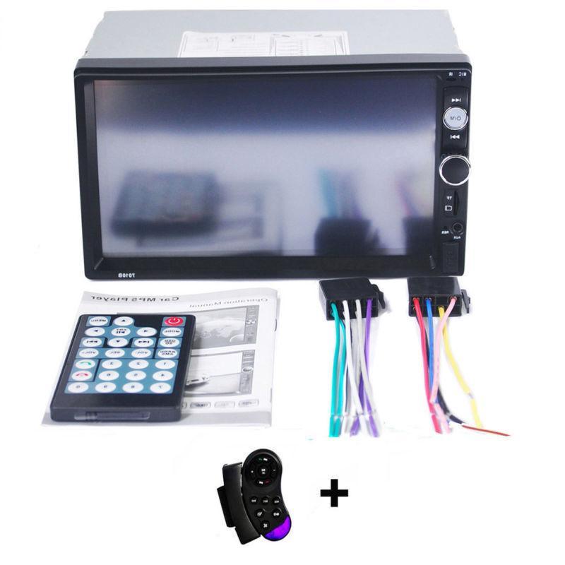 """Car Audio Touch 7"""" USB AUX"""