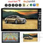 Car Stereo Radio Bluetooth Audio Receiver Double Din Touch S