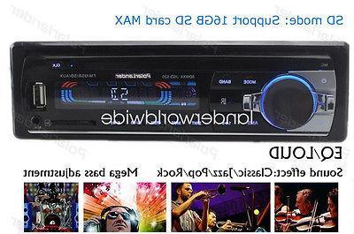 Car Stereo In-dash Head FM