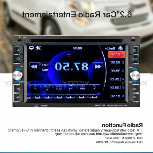 Car Stereo Radio DVD CD Touch Screen +