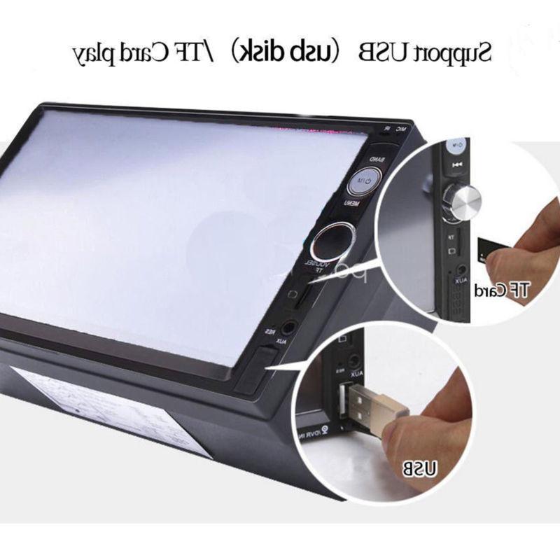 Car HD MP5 Touch Screen + Rear Camera
