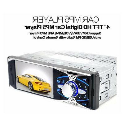 car tft screen remote control radio audio