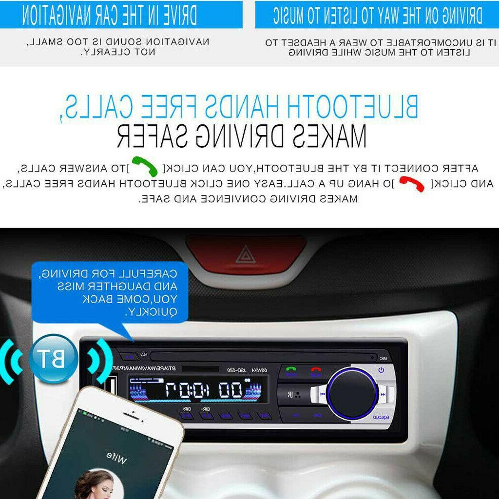 Bluetooth Audio In-Dash Receiver USB Radio
