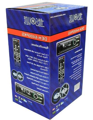 Absolute In Receiver Slot and Player with 1 Pair and 4 Speakers
