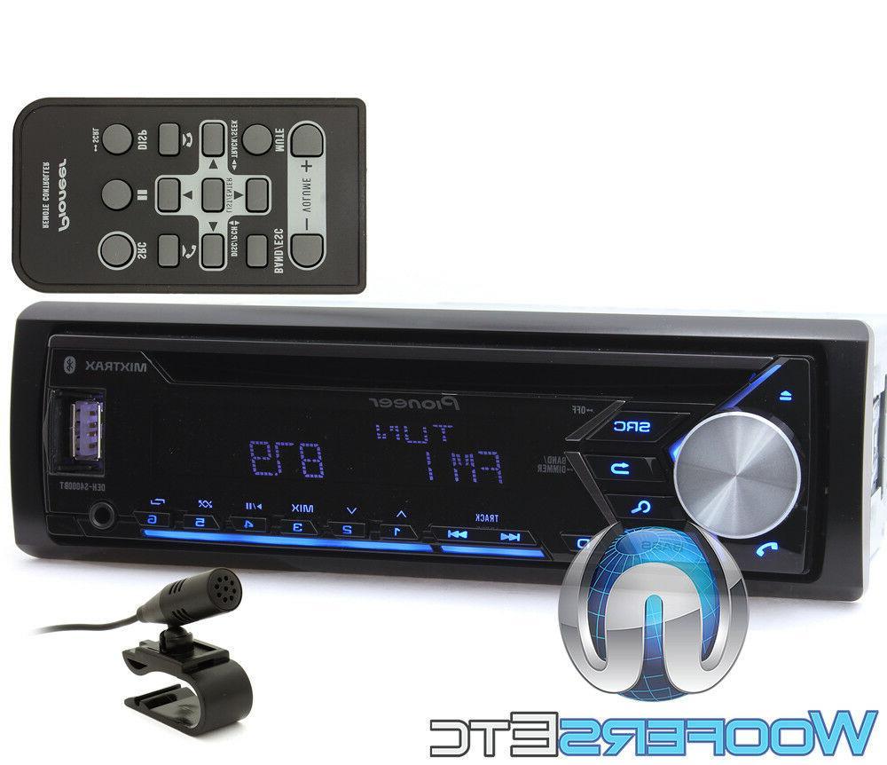 PIONEER DEH-S4000BT CD USB BLUETOOTH 13 EQ RADIO