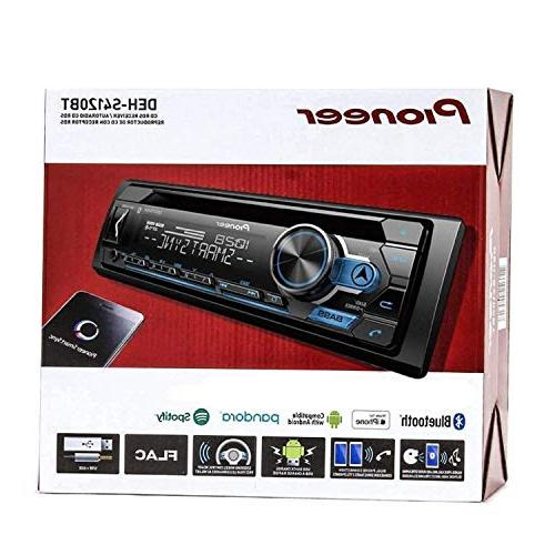 Pioneer AM/FM Receiver Bluetooth USB, and Support, Smart Sync App Pair and Pair of