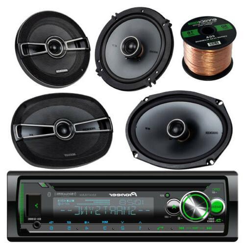 deh x6000bt cd bluetooth car radio kicker