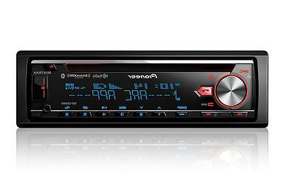 Pioneer DEH-X7800BHS 1-DIN Car Stereo In-Dash Bluetooth CD R