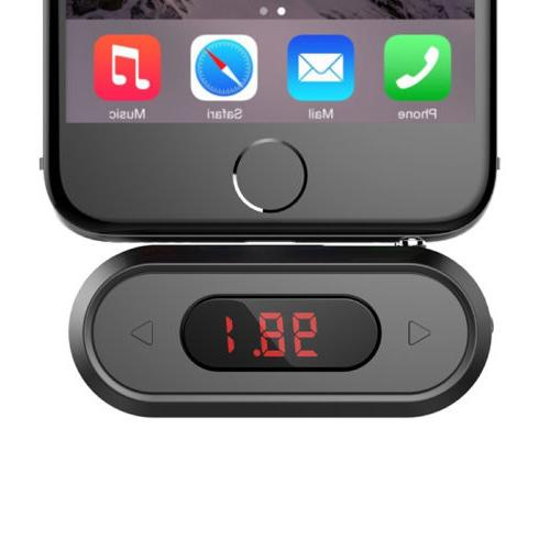 Doosl Wireless Radio Car Kit Hands-free FM Transmitter Audio