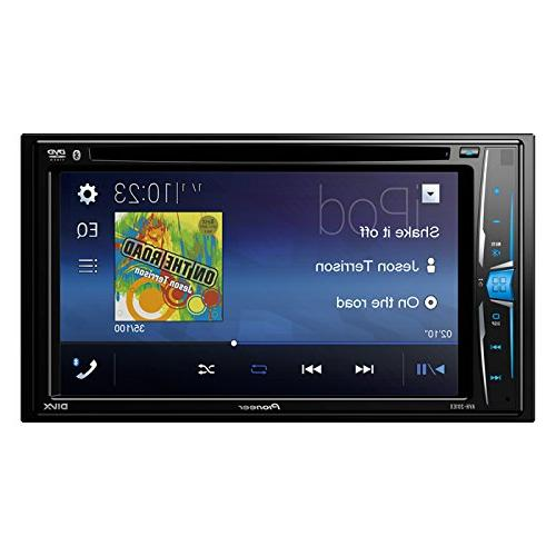 Pioneer Double AVH-200EX Player Touchscreen Double Din Car Stereo Radio Installation Mount Kit + Camera