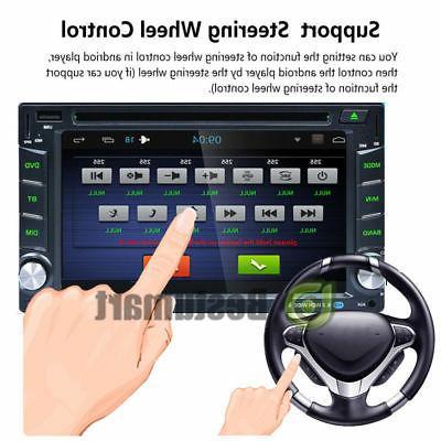 "Double 2 6.2"" Car Stereo MP3 HD Dash Radio"