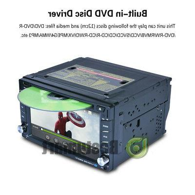 Double Din Car CD MP3 Player HD Dash Bluetooth Radio