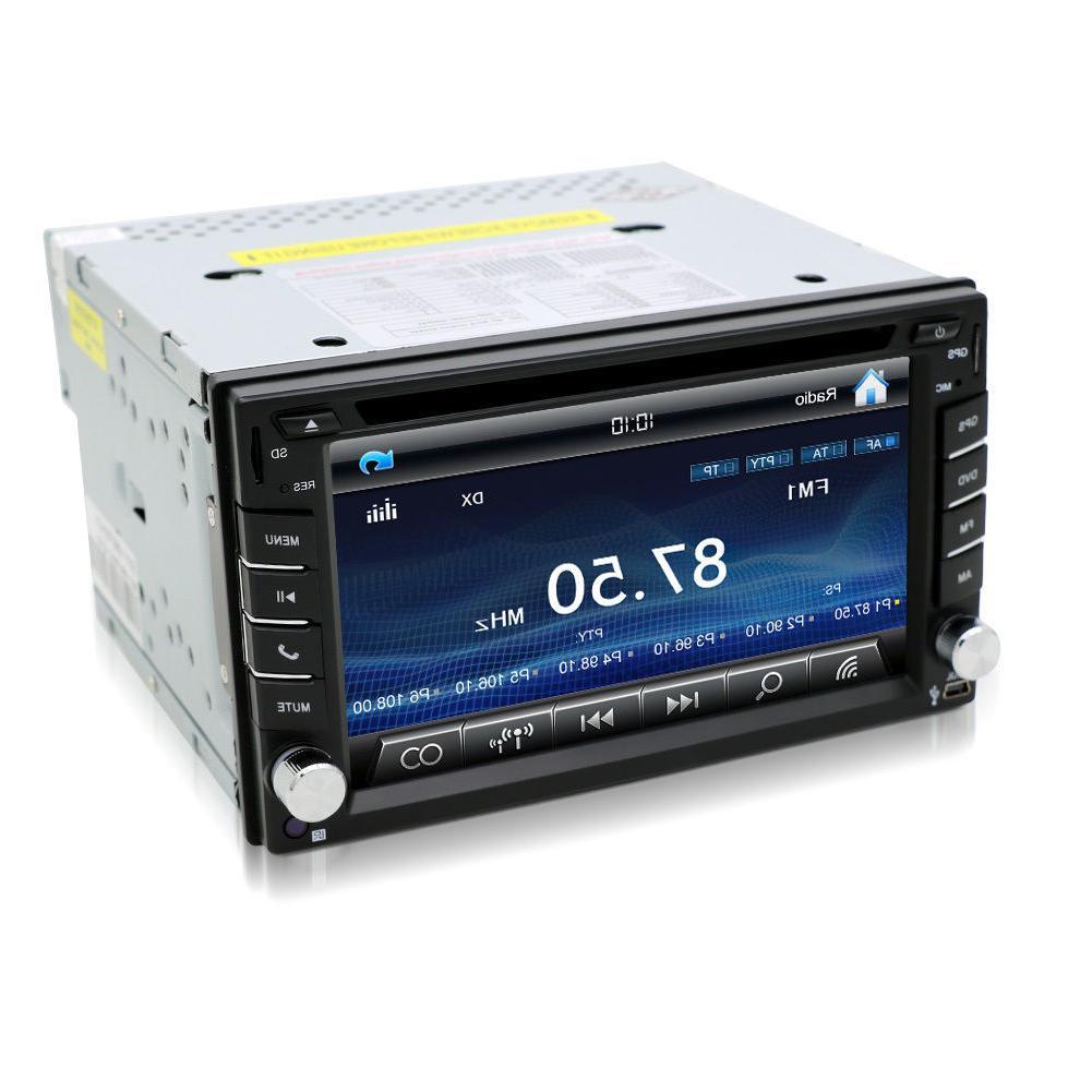Car Radio DVD Player GPS Dash RDS