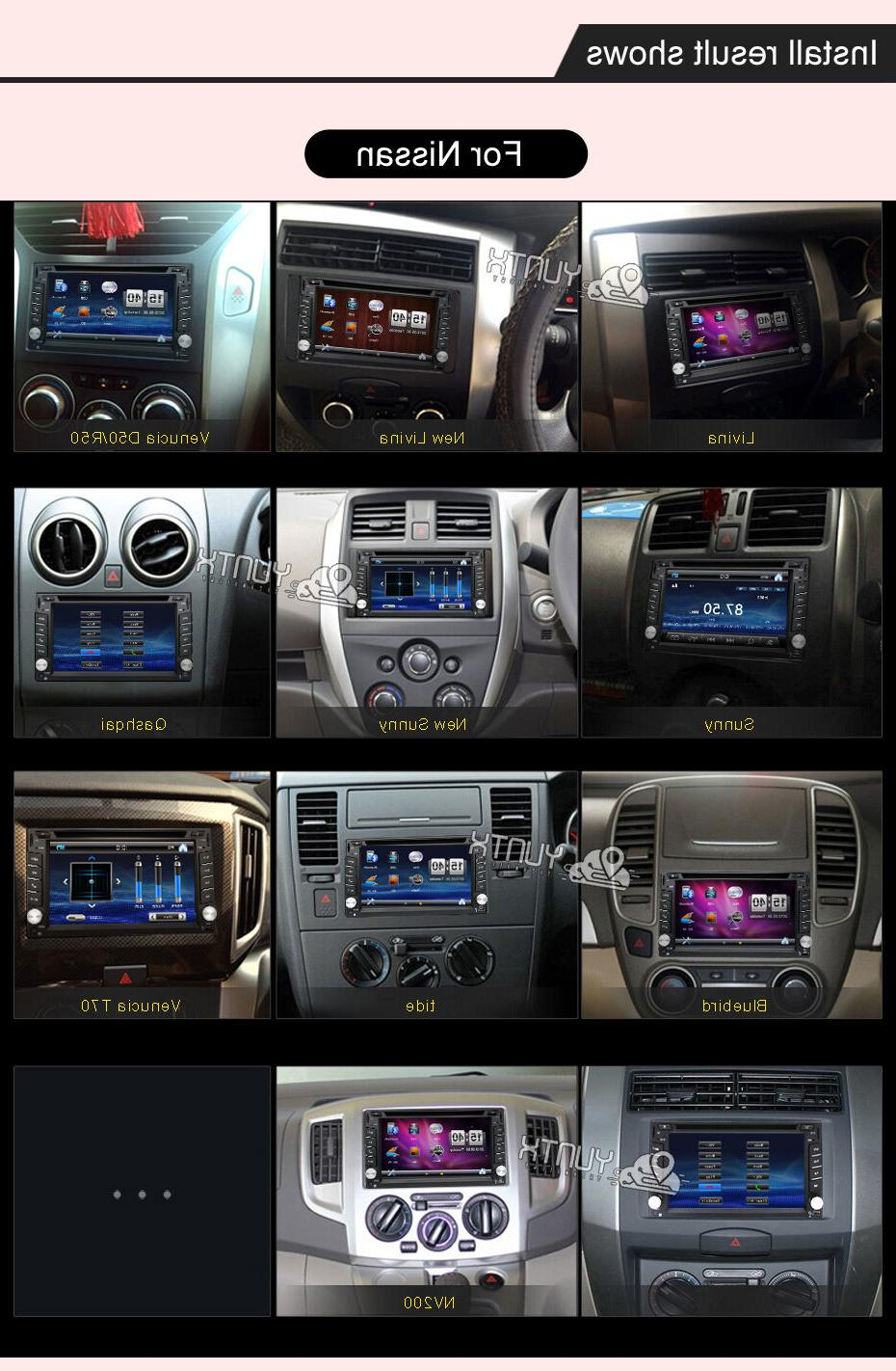 Double Car DVD Player GPS Dash RDS