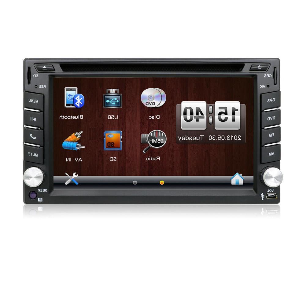 Double Car Radio Car Player Dash BT RDS
