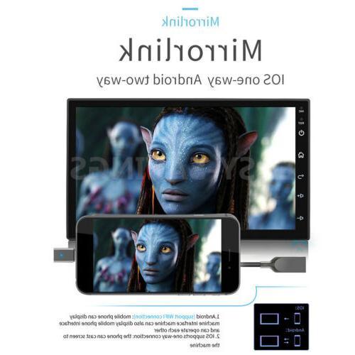 "Double 2Din 8.1 7"" 1080P pLAYER Stereo Radio GPS Wifi QUAD-Core"