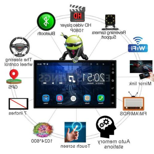 """Double Android 7"""" 1080P Stereo QUAD-Core"""