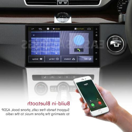 "Double 8.1 7"" 1080P Stereo Radio GPS QUAD-Core"