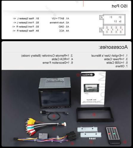 "Double 7"" Multimedia Car DVD Radio In"