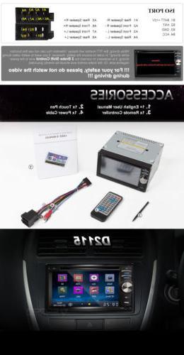 Double Din Car Stereo Radio In 2 DIN CD