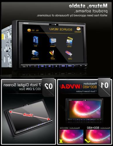 Double Multimedia Car Radio In Dash DIN