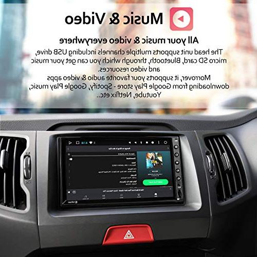 Stereo - inch Dash Radio Video Multimedia Player WiFi GPS
