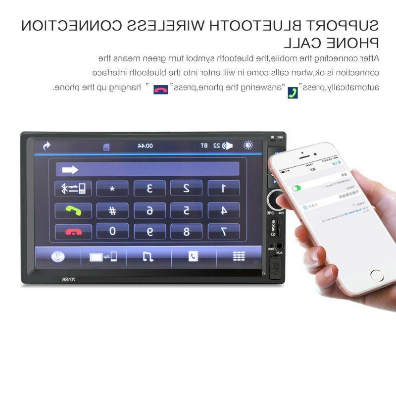 """7"""" Inch Stereo Mp5 Player Bluetooth Rear Camera"""