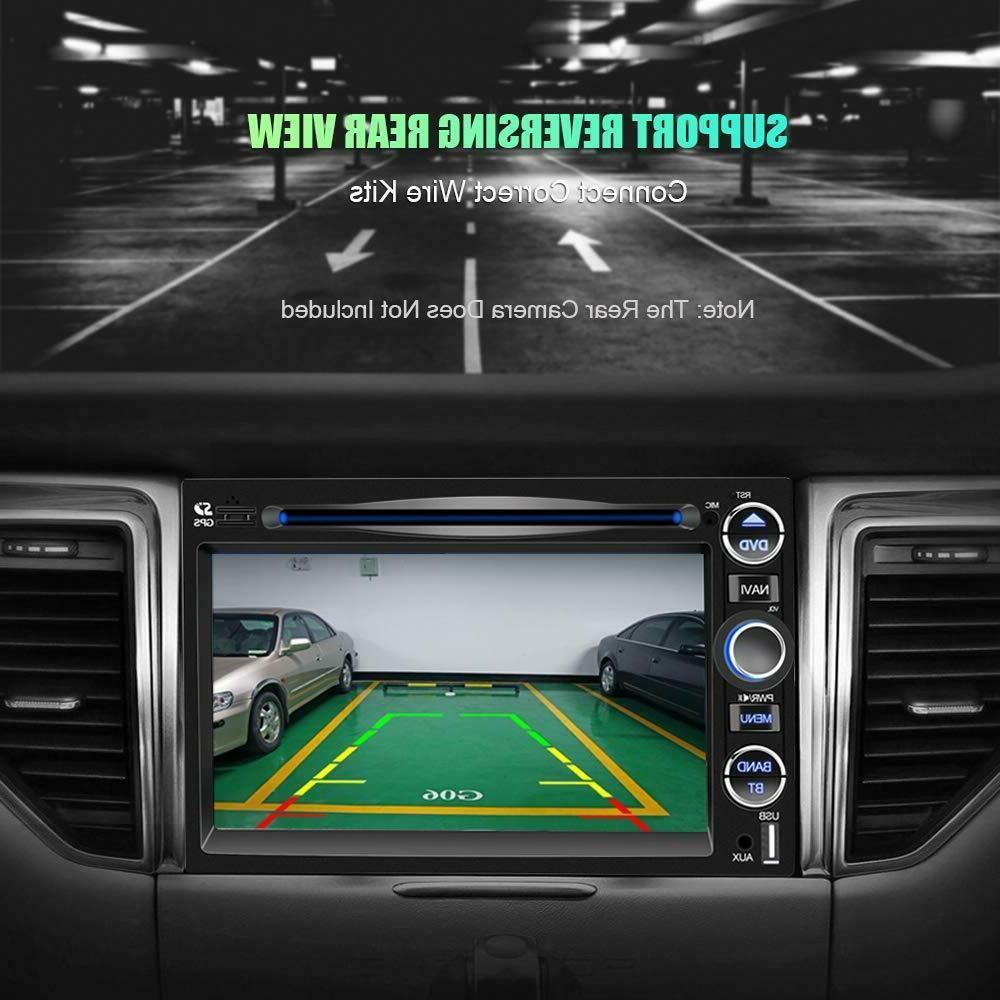 Double Car Radio 7 Screen Radio Mirror Link