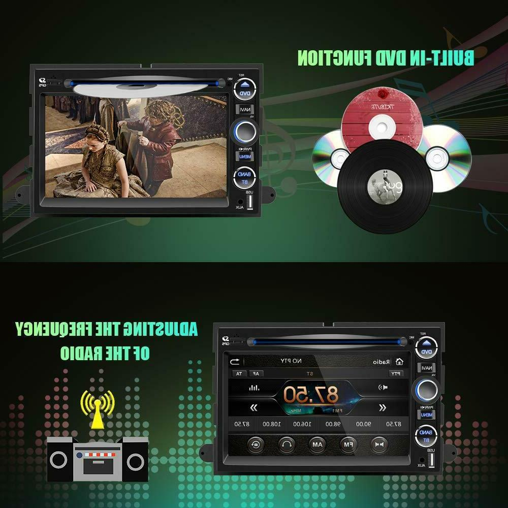 Double Din Car Stereo Radio Inch Touch Screen Bluetooth Mirror Link