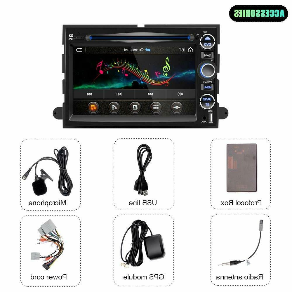 Double Car Stereo Radio Screen Mirror