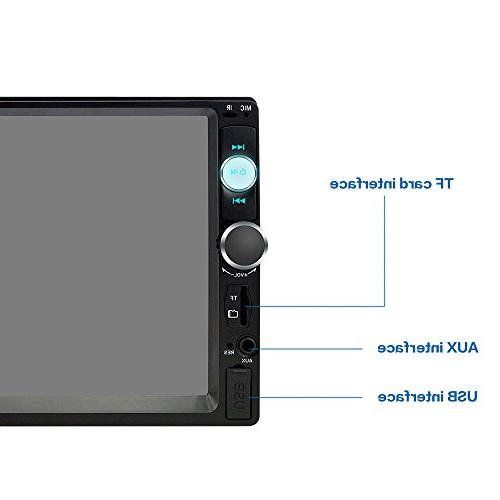 7 Inch Touch Screen with car MP5 Radio Audio Player Support Camera/Remote Control