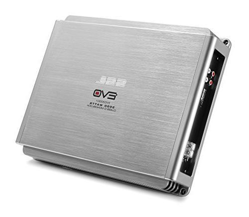 Sound Storm EVO3000.1 3000 Watt, Ohm Car Subwoofer Control