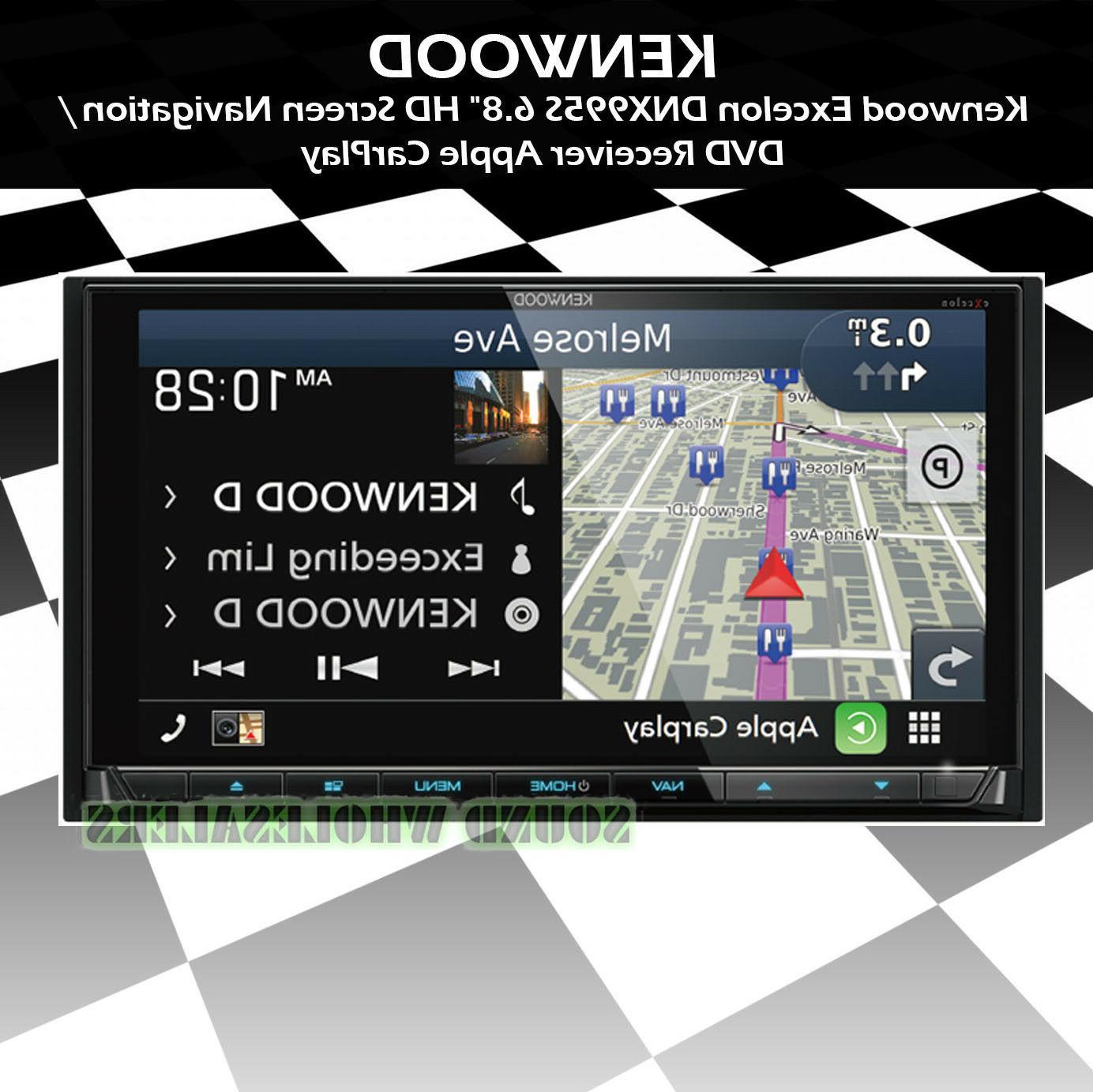 excelon dnx995s dash navigation system