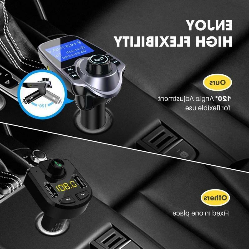 Victsing Fm Transmitter Adapter Car Kit