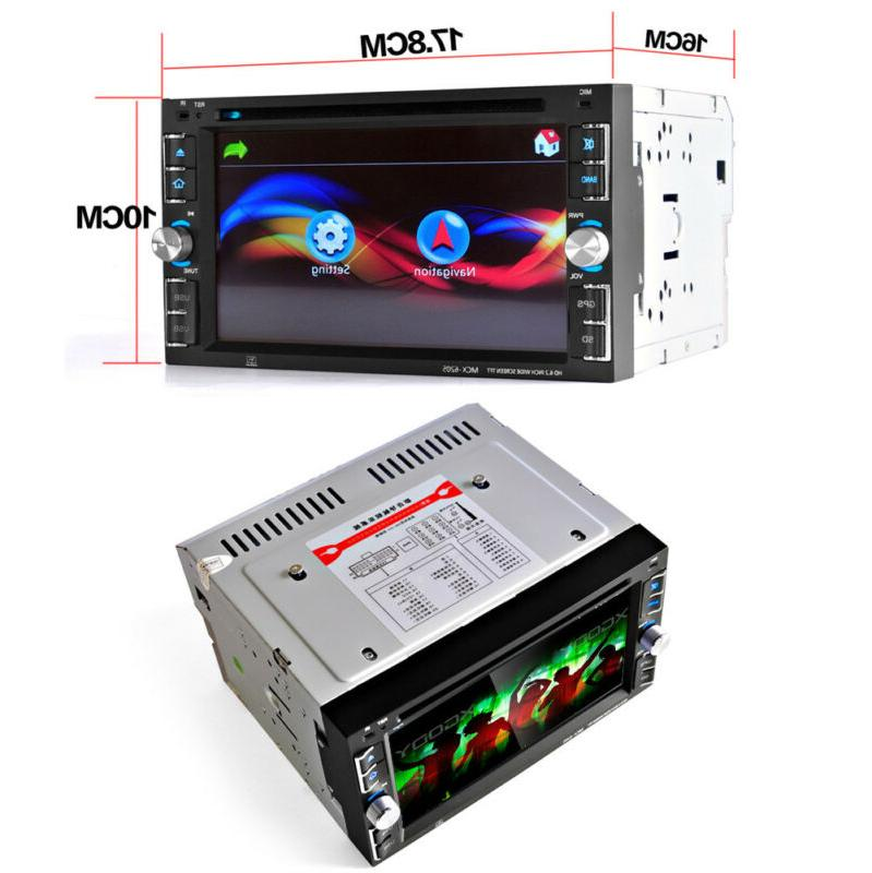 GPS Double Stereo Radio Player Free Map TV Port