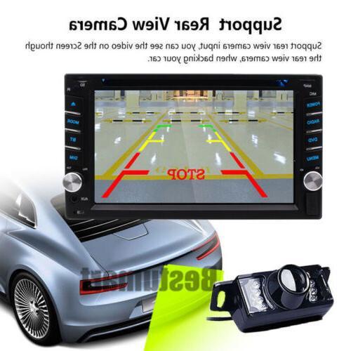 "GPS Radio Double Din 6.2"" CD"