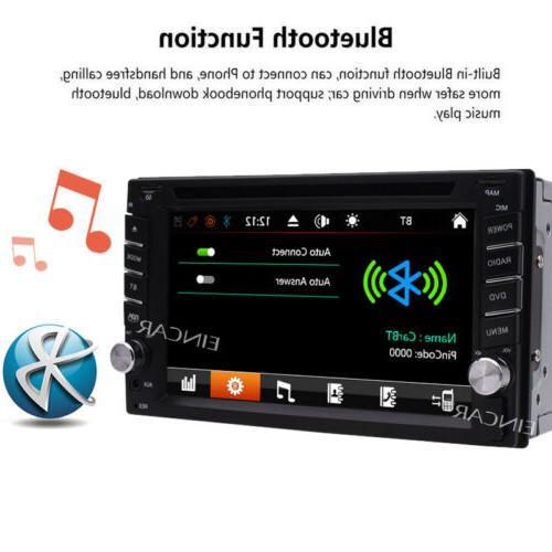 GPS Map Radio Din Car Stereo DVD CD