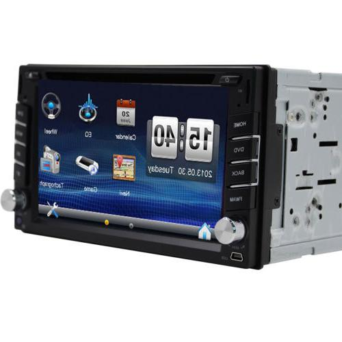GPS Car DVD Player Bluetooth + & Camera
