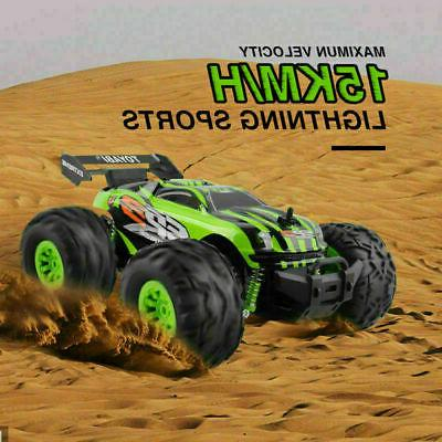GREEN RC VERY 1/18 TO RUN 2.4G EXTREME