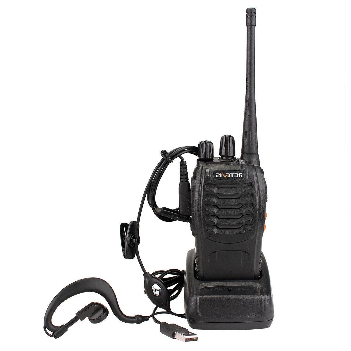 20XRetevis H-777 Walkie Talkies UHF400-470MHz 16CH 5W  2-Way Radio US long range